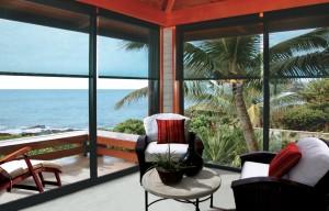 Oasis Patio Shade ocean view
