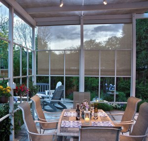 Oasis Patio Shade outdoor dining